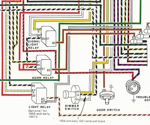 Porsche      19561959    Wiring       Diagram    POSTER  YnZ s 356 Reproduction Parts